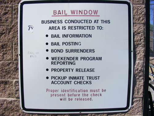 Las Vegas Jail Inmate - Bail Window Rules