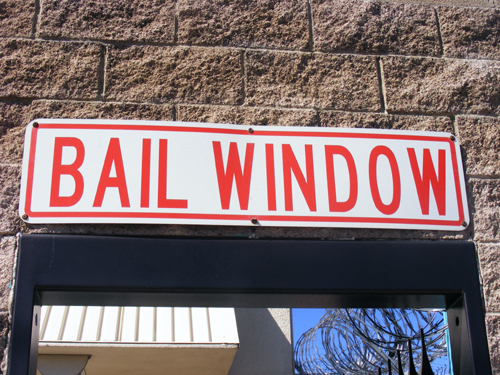 Las Vegas Jail Inmate - Bail Window