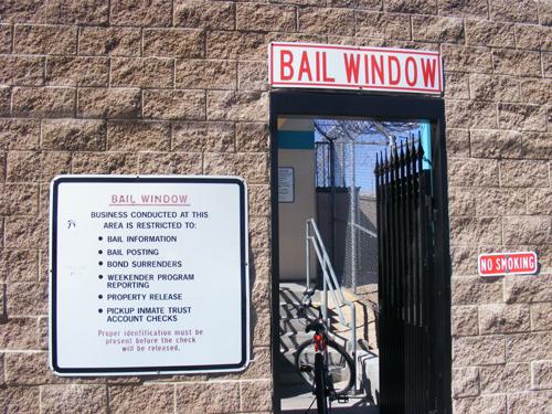 Las Vegas Jail Inmate - Bail Window