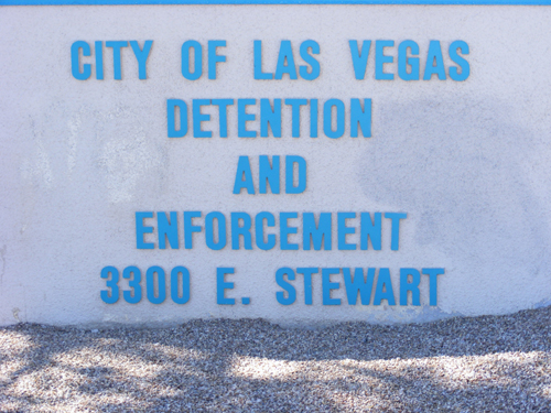 Las Vegas Jail Inmate - Detention and Enforcement Center