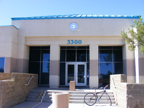 Las Vegas Jail Inmate - Detention and Enforcement Center - Front Door