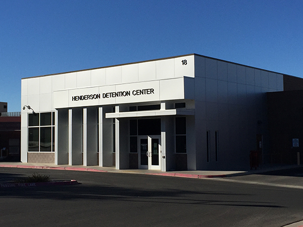 Henderson Detention Center near Boulder City